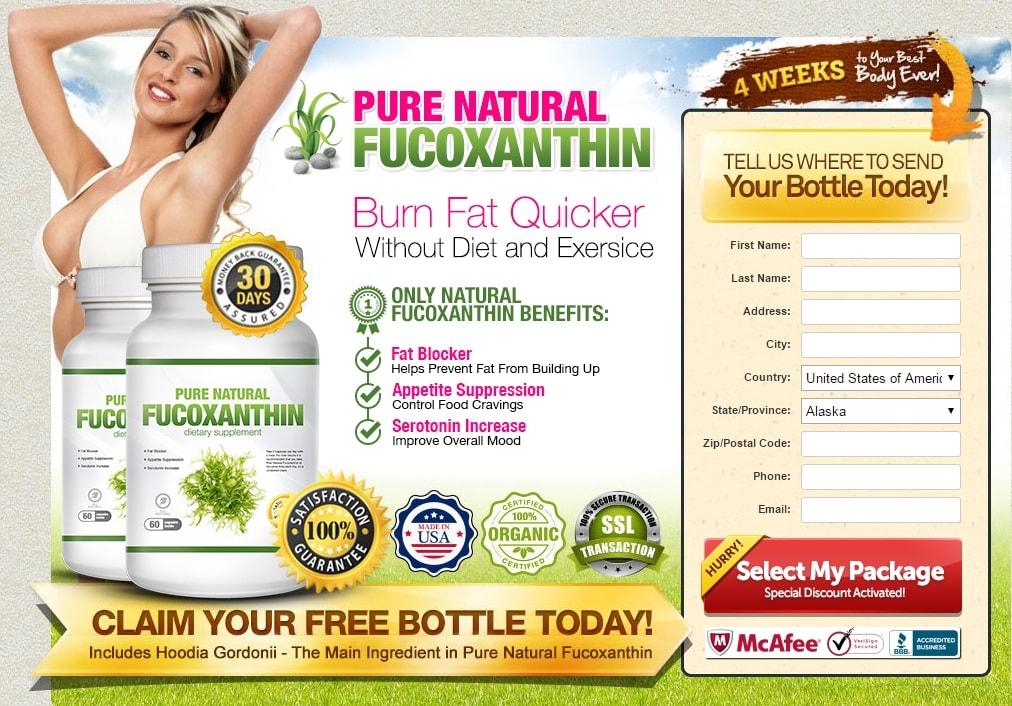Pure Natural Fucoxanthin