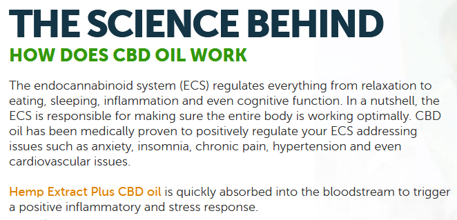CBD Hemp Extract Plus