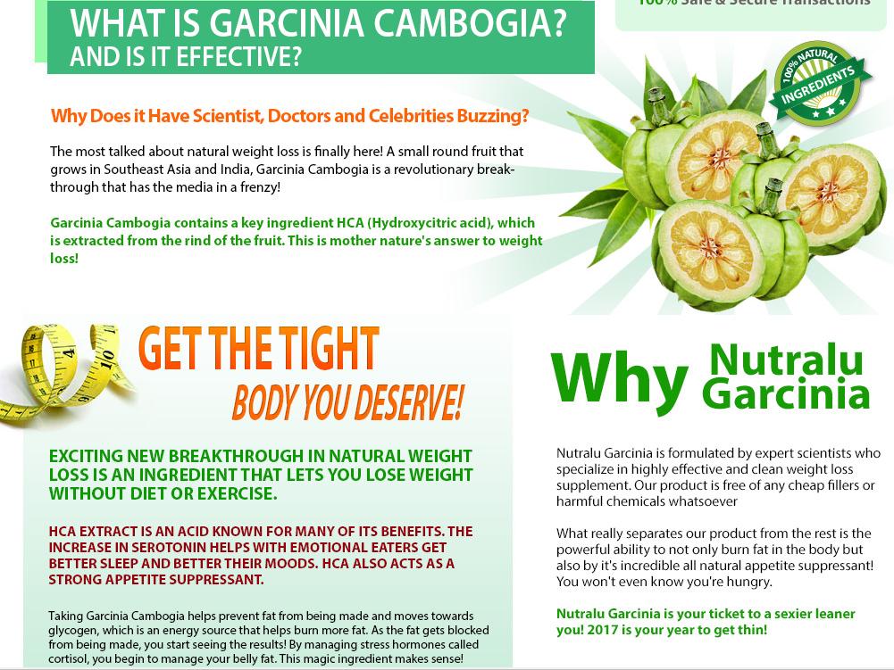 Natures Trim Garcinia Cambogia