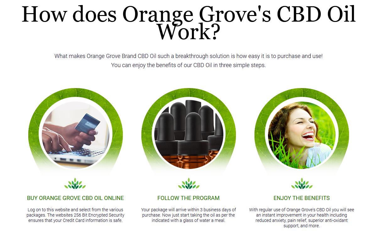 Orange Grove CBD Oil