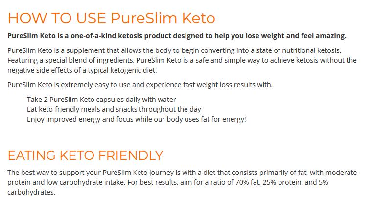 Pure Slim Keto