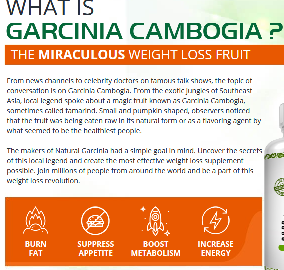 Natural Garcinia Cambogia work