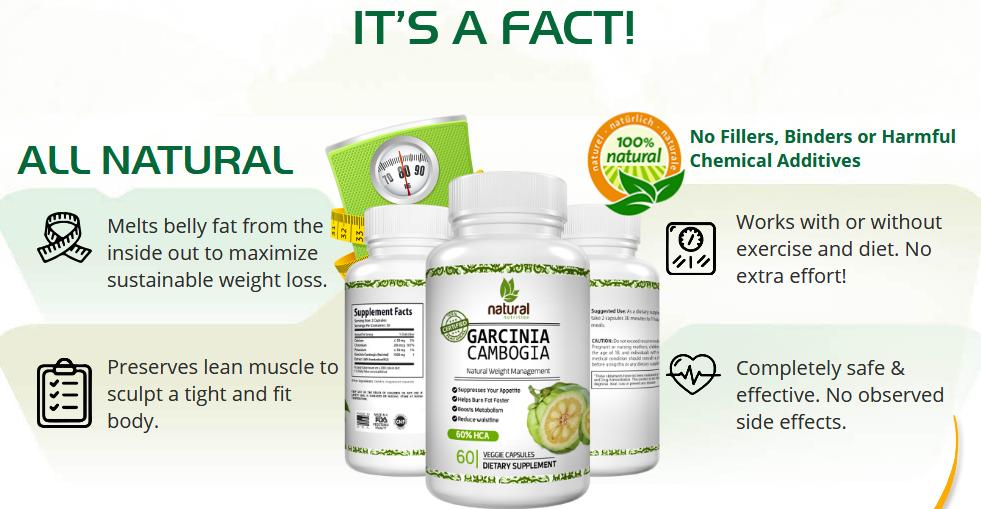 Natural Garcinia Cambogia