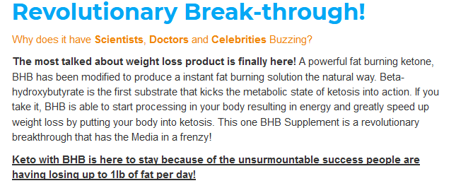 how Natural Nutrition Keto Max works