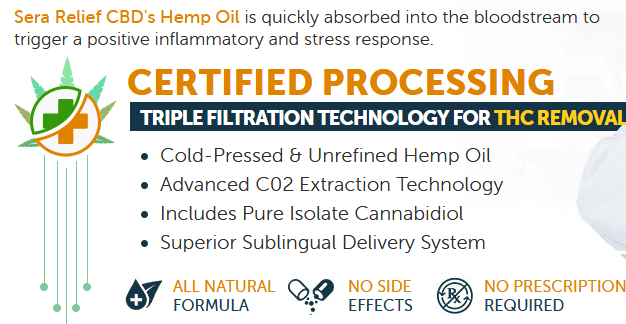 sera labs cbd oil process