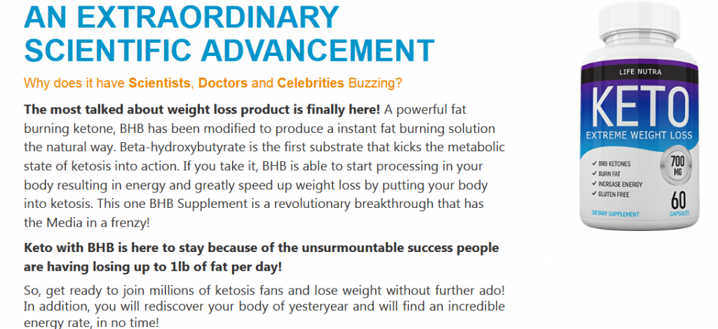 Life Nutra Keto A New Weight Loss Supplement for Weight Loss?