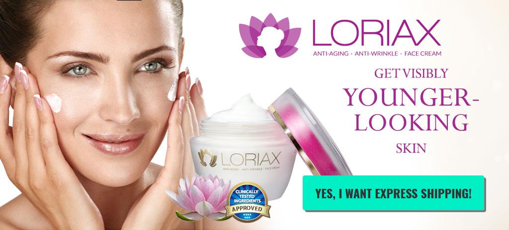 Loriax skin care cream