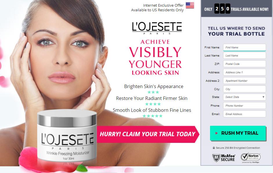 L'Ojeste Skin care cream