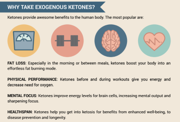 Exogenous ketone works