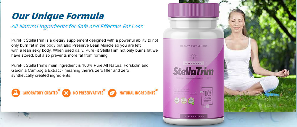 PureFit StellaTrim ingredients